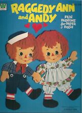 Raggedy Ann and Andy Fun Fashions for Paper Dolls (1974) Whitman (unused)