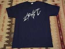 CRAFT logo SHIRT S,Sargeist,Azaghal,Mutiilation,Satanic Warmaster,Ofermod,Taake