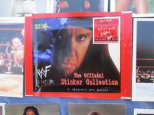 1999 Wwf Attitude The Offical Sticker Collection Sealed Pack Of 6 Panini