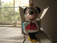 MINNIE MOUSE CHRISTMAS ORNAMENT KURT ADLER POLONAISE HAND BLOWN GLASS RARE