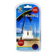 Seguro De Viajes Adaptador De Enchufe de Viaje Reino Unido Reino Unido Convertidor de alimentación Paquete Único
