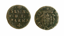 pcc1547_5) Parma - Ranuccio II Farnese 1646-94 Sesino Cu MIR 1046