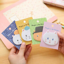 Cat Head Sticker Post It Bookmark Marker Memo Pads Index Sticky Notes Guestbook