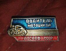 RUSSIAN CCCP BADGE MOTORBIKE MOTORCYCLE