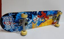 "WORLD INDUSTRIES VERY RARE FIGHTING RING ROBOTS COMPLETE SKATEBOARD 31"" X 7.5"""