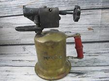 Vintage Brass Blow Torch Pump Action