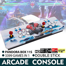 Pandora Box 11s 3399 Games in 1 Retro Video Game Double Stick Arcade Console New