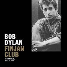 Bob Dylan Finjan Club, Montreal Canada, July 2, 1962 - LP Mint (Sealed) / Mint