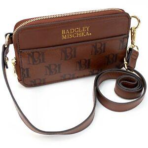 BADGLEY MISCHKA Madalyn Vegan Leather Pouch Belt Bag Fanny Pack