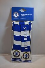 Chelsea Football Club Scarf Car Sign. CFC Sports Memorabilia