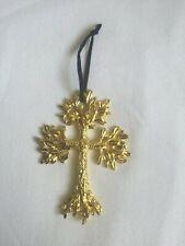 Michael Aram Leafy Cross Ornament NEW in Box