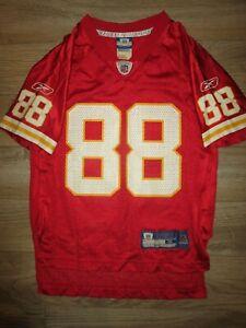 Tony Gonzalez #88 Kansas City Chiefs NFL Reebok Jersey Youth SM 8 child