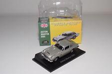 ** ATLAS CLASSIC BRITISH SPORTS CARS ASTON MARTIN DB5 METALLIC GREY MINT BOXED