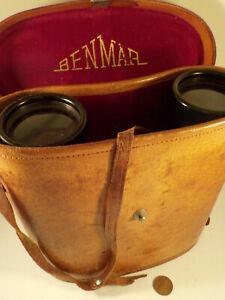 """Original 1970's-?-vintage """"BENMAR ~ Beacon ~ (7-x-50) BINOCULARS"""" w/ Case!"""