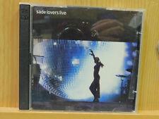 Sade Lovers Live CD 2 Disc 2002 Epic Jazz