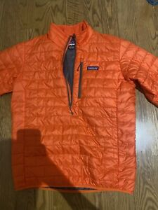 Patagonia Nano Puff Jacket for Men, Size Medium - Orange