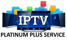TEST IPTV Subscription with 5000+ Channels & VOD - PLATINUM PLUS SERVICE