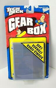 1999 X Concepts Tech Deck Toy Gear Box Storage Case for Fingerboards & Access.
