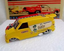 CUSTOM CHEVY ASTRO VAN - SNAKE AND MONGOOSE - LOW PROFILE  REAL RIDERS  1 0F 1