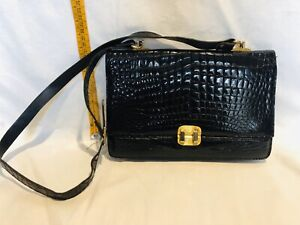 Purse Mano IN Real Crocodile Perfect Conditions Vintage Ages '80