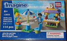 Juice Bar and Table BricTek Imagine Building Block Construction Brick Toy 12033