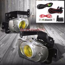 Amber Lens Housing Driving/Bumper Fog Light+Wiring For Honda 92-95 Civic EG8/EH9