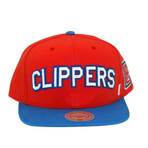 LA Clippers Training Room Mitchell and Ness Snapback