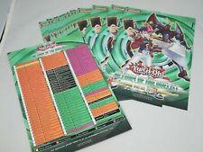 Yugioh 16x Return Of The Duelist Sneak Peek Promotional Advert Card List 2011