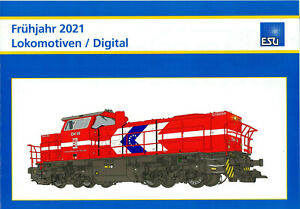 ESU Prospekt - Prospekt Neuheiten 2021 Lokomotiven / Digital