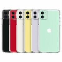 For Apple iPhone 11 2019 Hybrid Shockproof Thin Slim Clear Hard TPU Case Cover