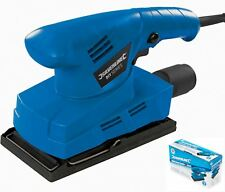 Silverline Flat Orbital Sander Electric Sanding Power Tool Machine 135W 521333