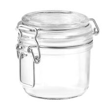 1 x Bormioli Rocco Fido Swing Top Preserving Bottle 200ml Jar