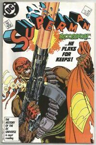 1987 Superman #4-1st app of Bloodsport-Suicide Squad