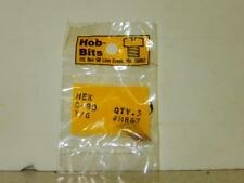 HOB-BITS 0-80 HEX SCREWS H867- NEW- H50