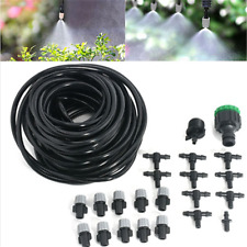 Micro Garden Patio Water Mister Air Misting Cooling Irrigation System Sprinkler