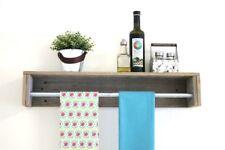 Natural Simple Towel Shelf