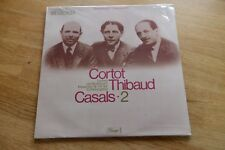 Still sealed: CORTOT THIBAUD CASALS beethoven LP DACAPO c047-00857