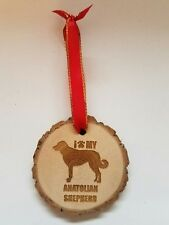 I Love My Anatolian Shepherd Dog Ornament Pet Lover Keepsake Gift Christmas