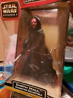Star Wars: Episode 1 Darth maul  Large Doll Action Figure