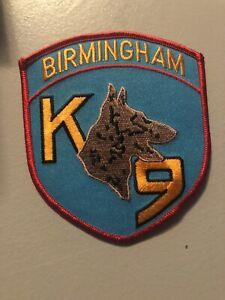 Alabama  Police - Birmingham K9  Police  AL  Police  Patch