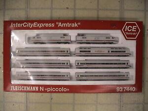 """Fleischmann 937440 N amtrack InterCity Express """"ICE"""""""