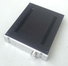 2607B full aluminum power amplifier chassis enclosure box with knob for DIY