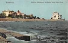 Romania Constanta Vederea Bulevardului cu Cazino vazut de pe Mare Boulevard 1926