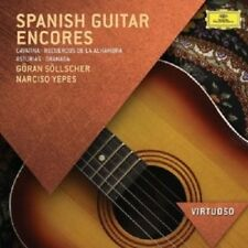 NARCISO/SOLLSCHER,GORAN YEPES - GUITAR ENCORES  CD NEW+ SANZ