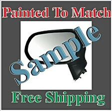 Painted to Match Power Mirror Fits 06-11 Honda Civic Coupe Left Driver No Heat