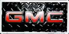 GMC CAR TRUCK TAG LICENSE PLATE BLACK DIAMOND DENALI SIERRA YUKON GMC SIGN