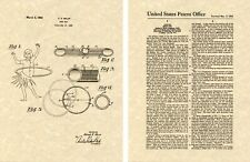 US PATENT for the HULA HOOP Art Print READY TO FRAME!! classic 1963 exercise toy