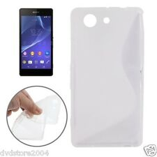 Custodia Cover WAVE CLEAR Per Sony Xperia Z3 Compact Mini M55W D5803 D5833 TPU