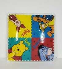 "Winnie The Pooh Tigger Eeyore Piglet Walt Disney 12"" Glass Ceiling Light Fixture"