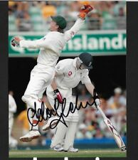 ADAM GILCHRIST SIGNED 8 BY 6 INCH PHOTO WILL COMES WITH ITS OWN C.O.A